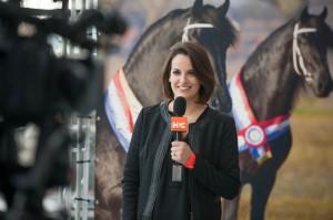 Daisy van Nieuwkasteele Passe Partout Fries presentatrice Horse & Country TV