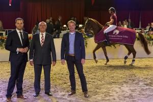Luc van Moorsel Dutch Sport Horse Sales veiling weert paarden