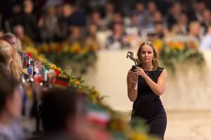 Goed doel Dutch Sport Horse Sales veiling IJzeren Man