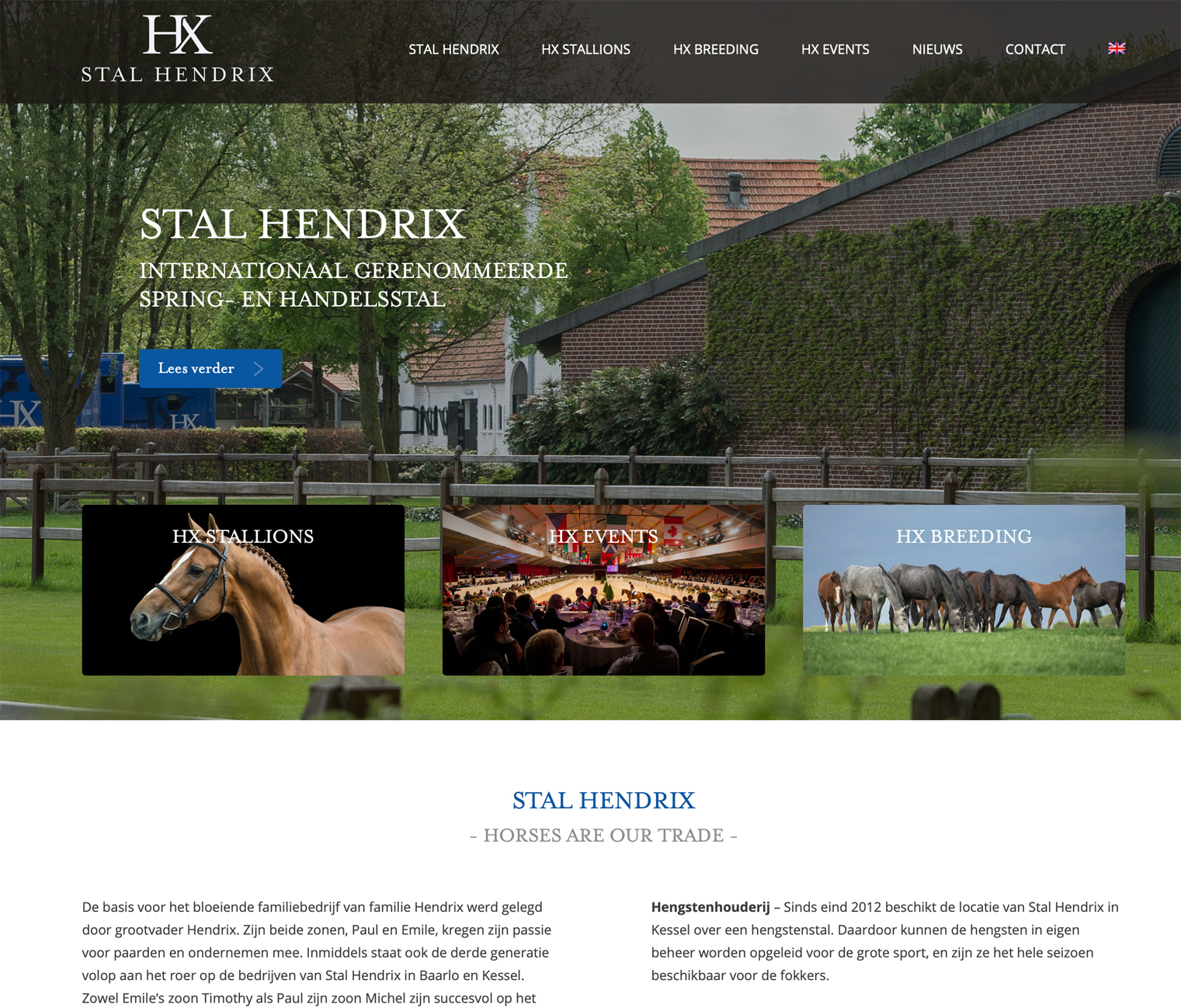 Website Stal Hendrix