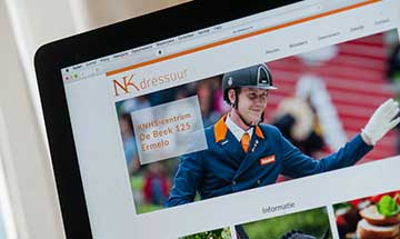 Website NK Dressuur