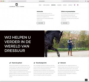 Laurens van Lieren Selevia Hoeve Grand Prix paarden marketing website
