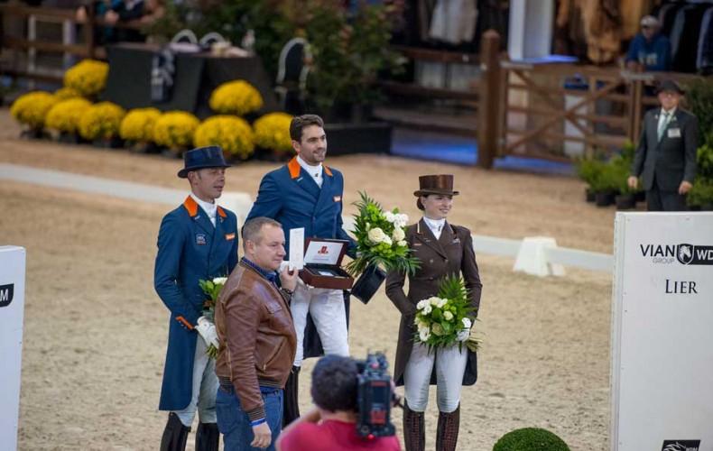 Equine MERC te gast tijdens World Dressage Masters Lier