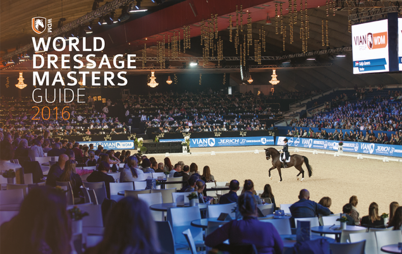 Paarden & Marketing door Equine MERC: World Dressage Masters Guide 2016