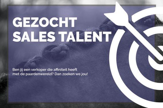 Gezocht: Sales talent