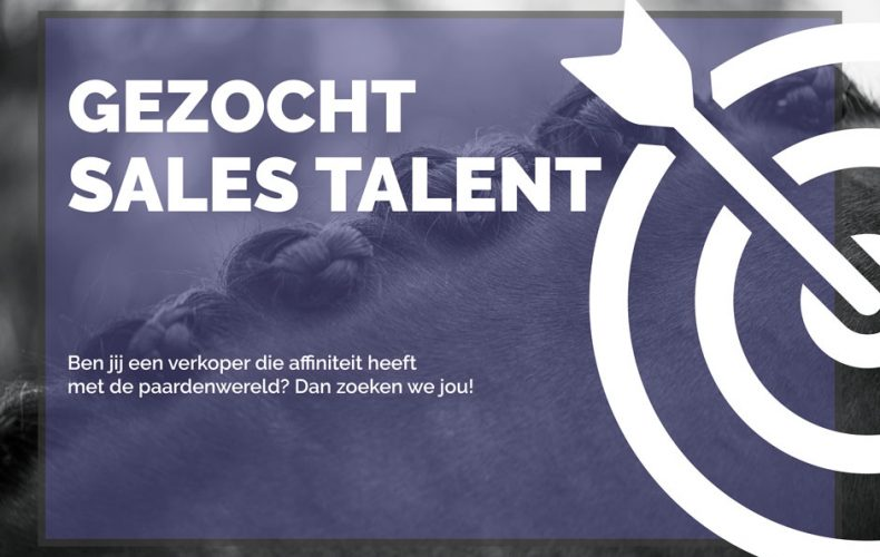 Gezocht: Sales talent