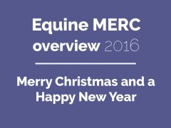 Tadaa! The Equine MERC overview of 2016!