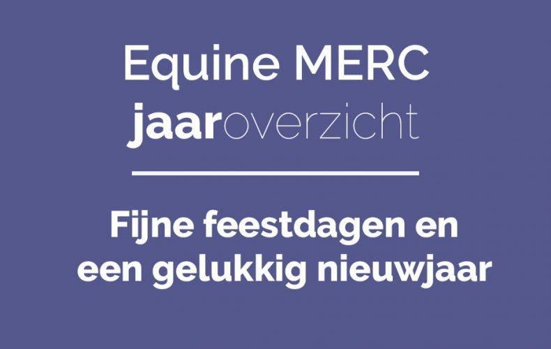 Tadaa! Het Equine MERC Jaaroverzicht 2016!
