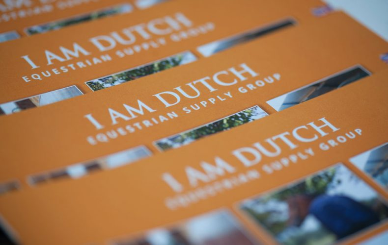 We are on a roll. Brochure for I am Dutch: check!