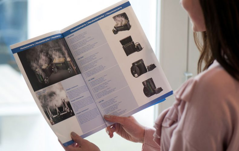 Whoppa! New brochure for Equitrend, made by us