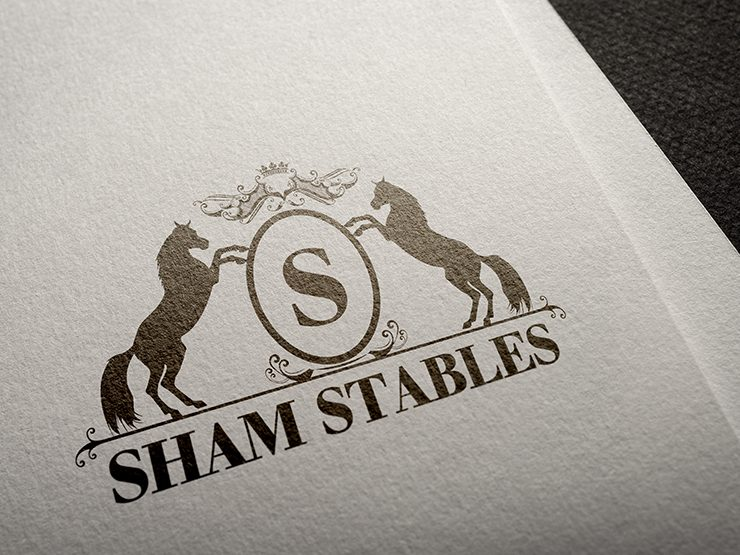 Huisstijl Sham Stables