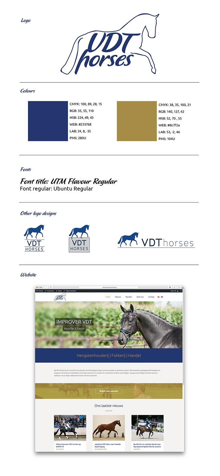 Logo VDT Horses
