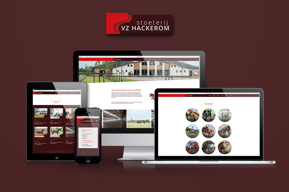 Website Stoeterij VZ Hackerom live!