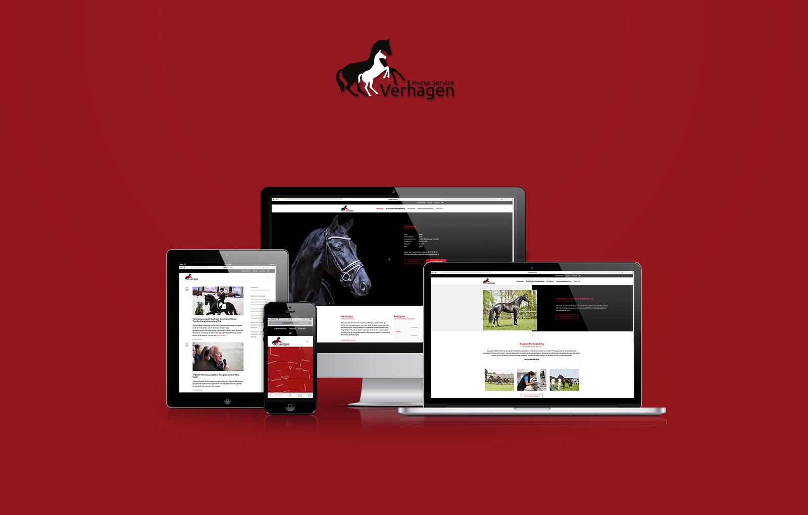 Nieuwe website Verhagen Horse Service online!