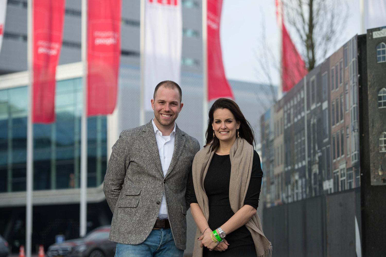 Met H&C TV op Jumping Amsterdam
