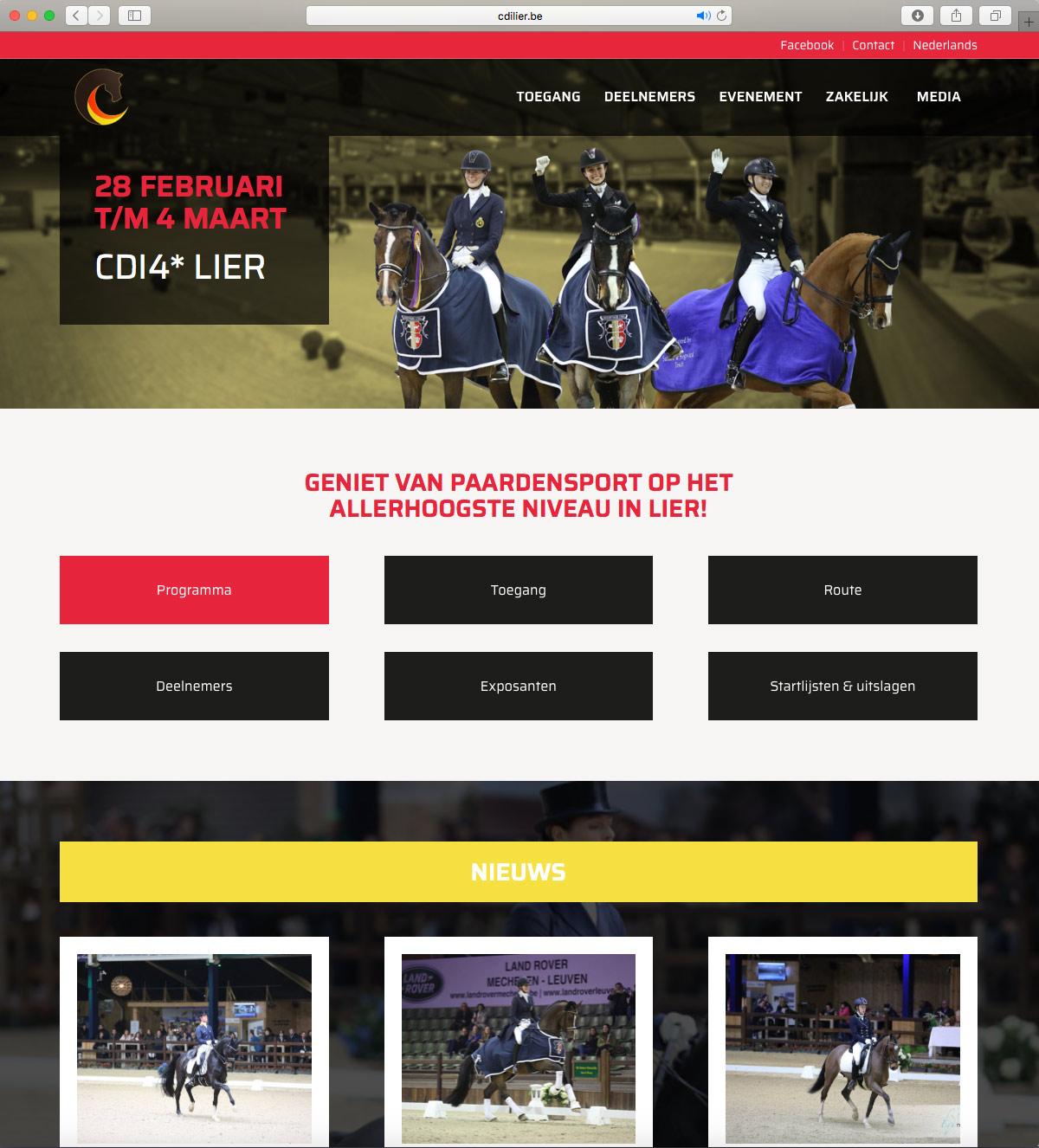 Website CDI Lier