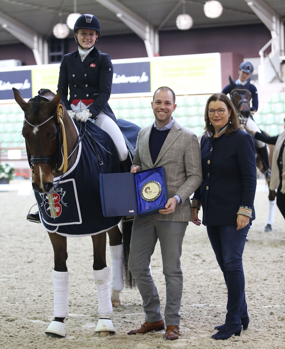 Equine MERC Prix: Nanna Skodborg Merrald and Saadon Que dance towards victory!