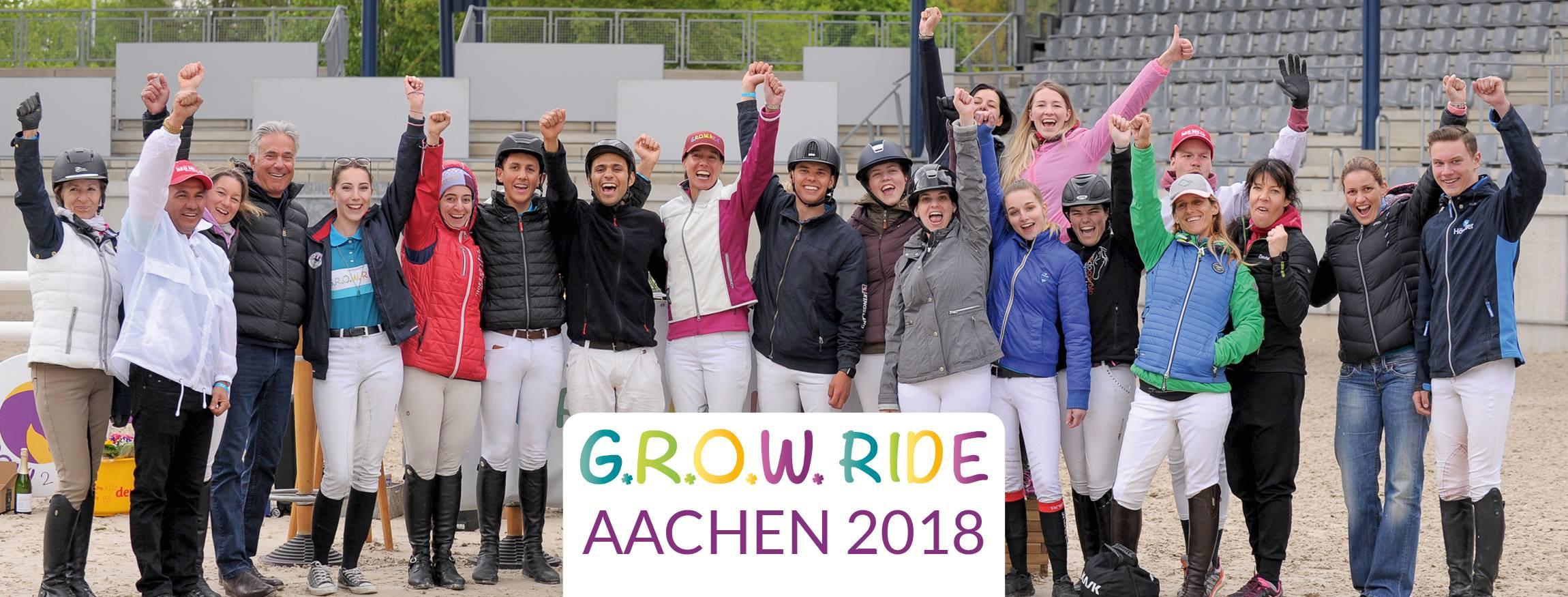 GROW Ride Aachen 2018: eerste samenwerking met Luciana Diniz