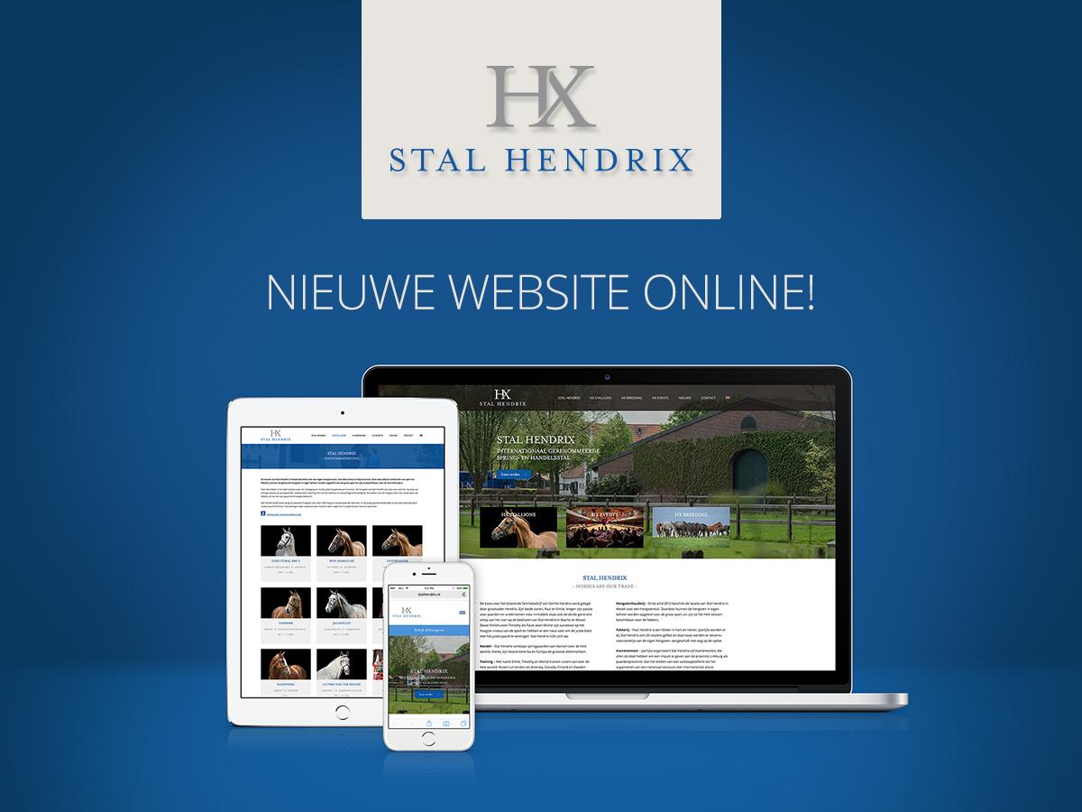Nieuwe website Stal Hendrix