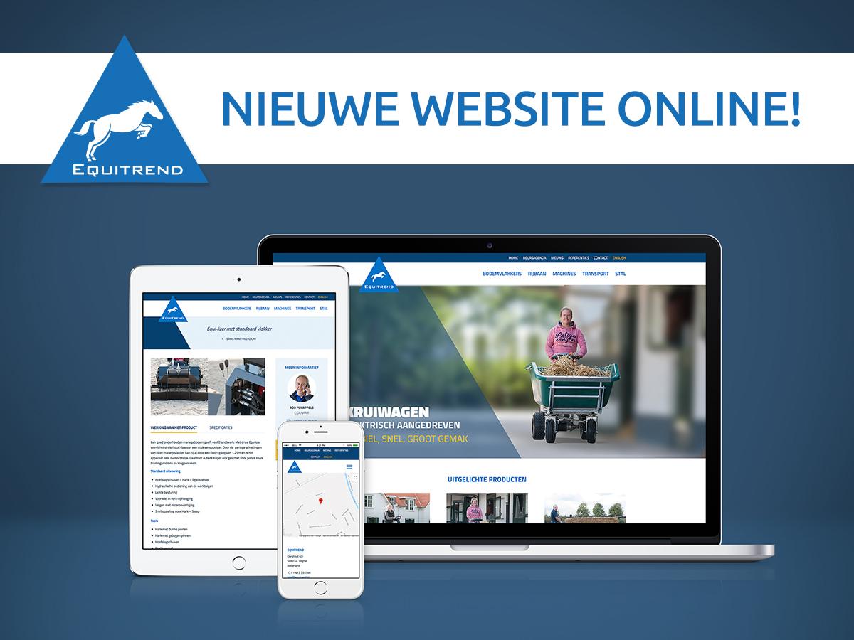 Yessss! De nieuwe website van Equitrend is live!