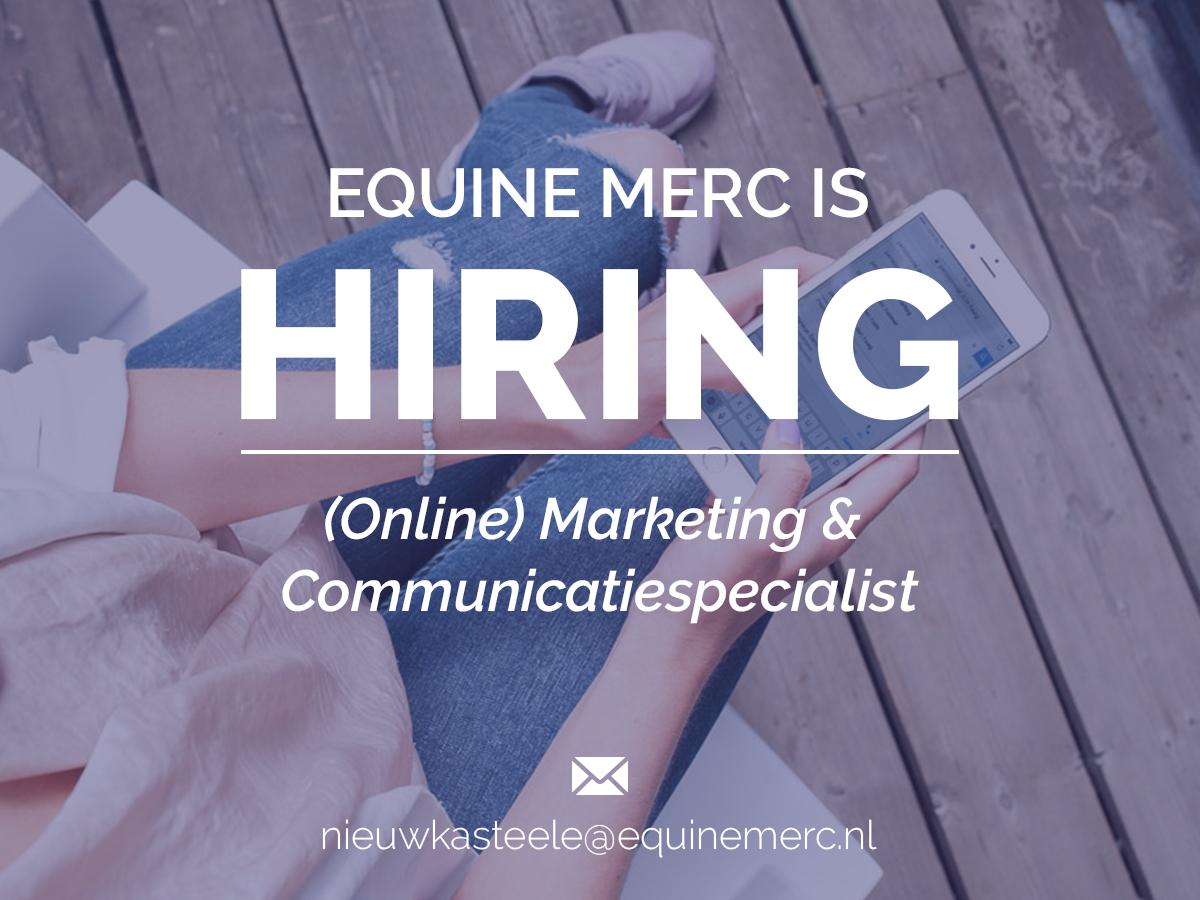 Wij zijn opzoek naar een (online) marketing & communicatiemedewerker